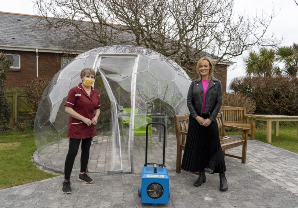 Care Home Visitor Pods