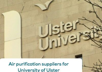 Air purificatiion suppliers for University of Ulster